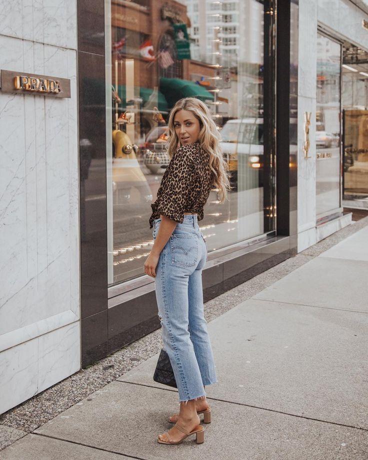 "Photo of CARA JOURDAN on Instagram: ""Favourite jeans, favourite shoes, favourite print ♡ photo by"