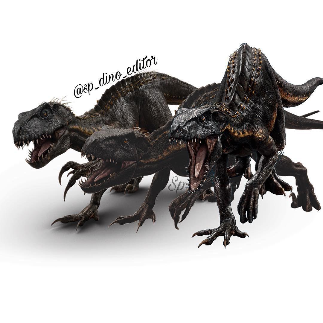Black And White Spinosaurus Skeleton