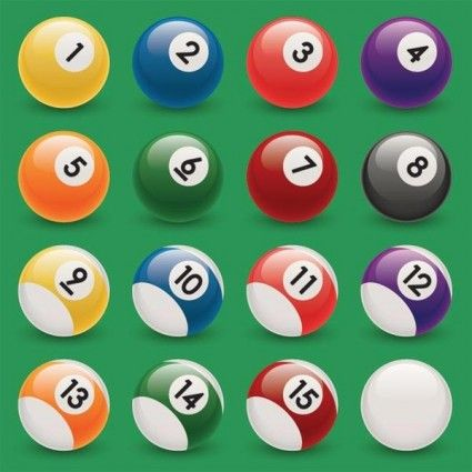 snooker balls font - Google Search | numbers | Pinterest | Fonts ...