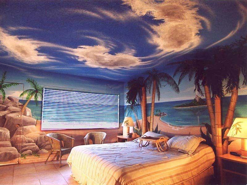 7 Most Popular Hawaiian Themed Living Rooms #hawaiianthemedrooms Themed  Hotel Rooms, Sand Floor,