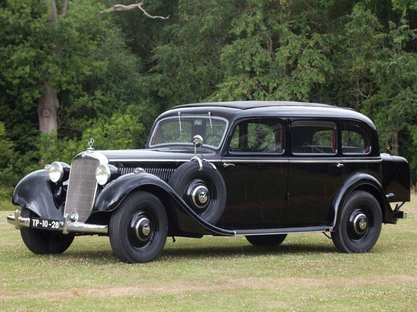Mercedes Geschiedenis Modellen En Types 1886 2001 Mercedes Benz W103 ...