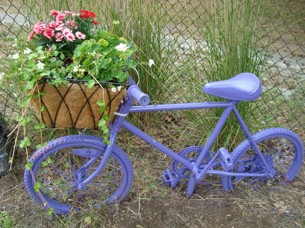 18 Mind Blowing Bicycle Planter Ideas For Your Garden Or On The Go   Garden  Lovers Club