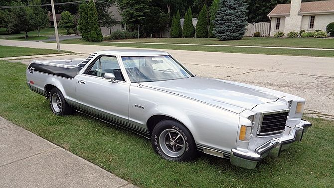 1977 ford ranchero gt 400 ci automatic presented as lot t98 at schaumburg il
