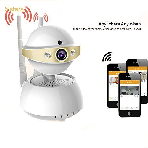 Poweriver Wireless Wifi Ip Security Camera 720p Home Surveillance System Camera Two Way Au Home Security Wireless Home Security Wireless Security Camera System