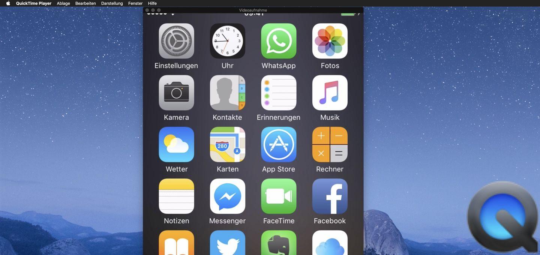 Iphone Ipad Bildschirm Am Mac Aufnehmen Macs And Erapod