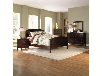 metalindo ii 5 pc queen panel bedroom | badcock &more | bedroom