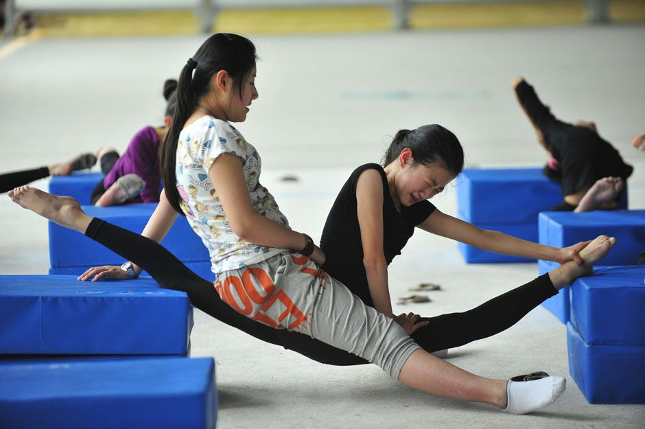 Apologise, but, chinese olympic gymnastics training accept. opinion