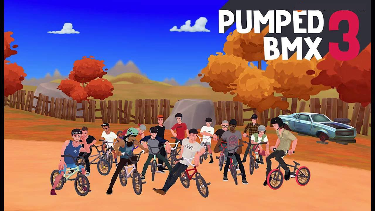 How To Get Pumped Bmx 3 For Free Ios
