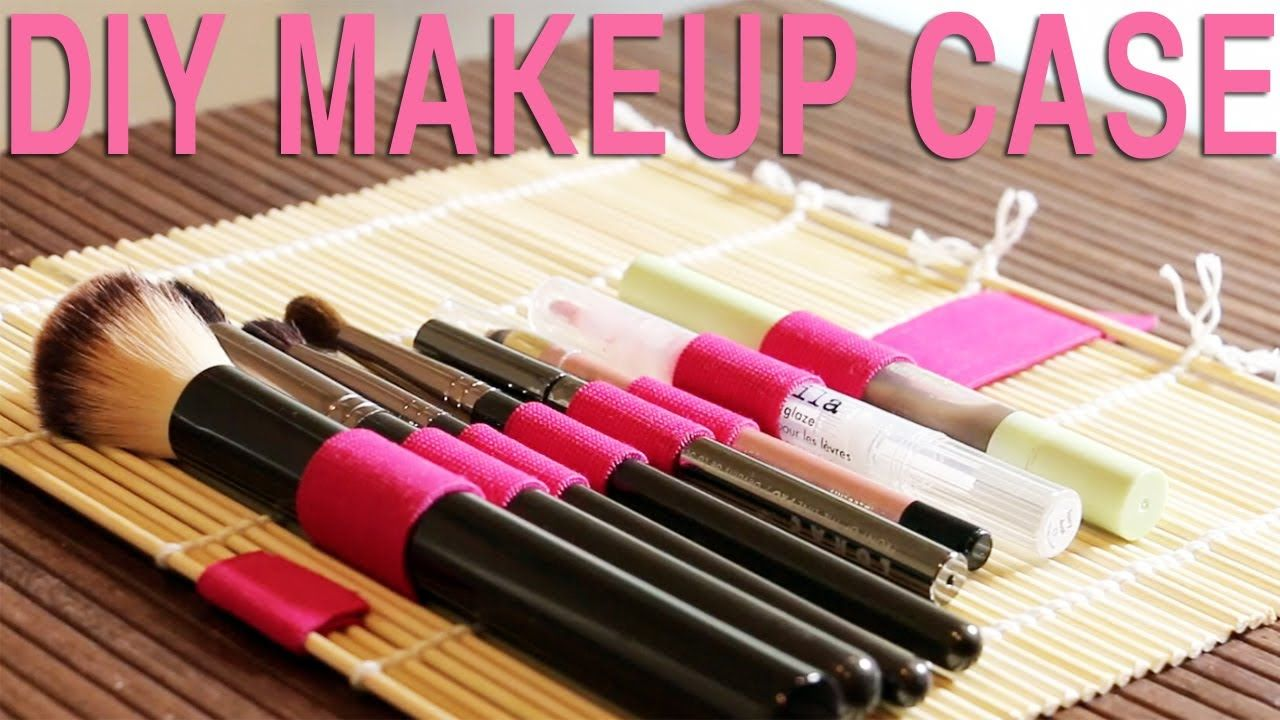 DIY MAKEUP BRUSH ROLL Tip Tuesday (+playlist) Diy