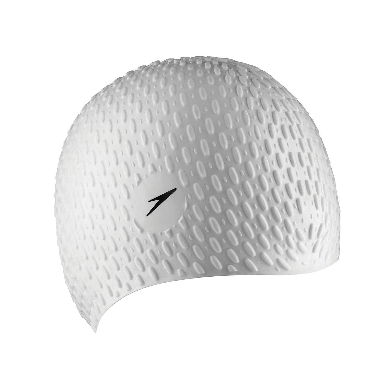 Speedo Bubble Silicone Cap   Swim Caps