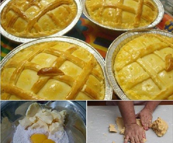 INGREDIENTES 3 xícaras (chá) de farinha de trigo 1 xícara (chá) de manteiga ou margarina 2 ovos (um para pincelar) 1 colher (sopa) de fermento químico em pó 1/2 xícara (chá) de leite 1 colher (chá) de sal COMO FAZER 1 – Em uma tigela, coloque a farinha de trigo, faça uma covinha no meio …