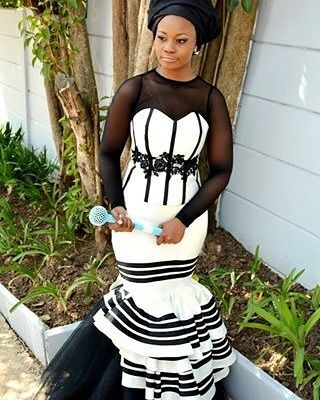 I love this / Based from the Xhosa traditional dress
