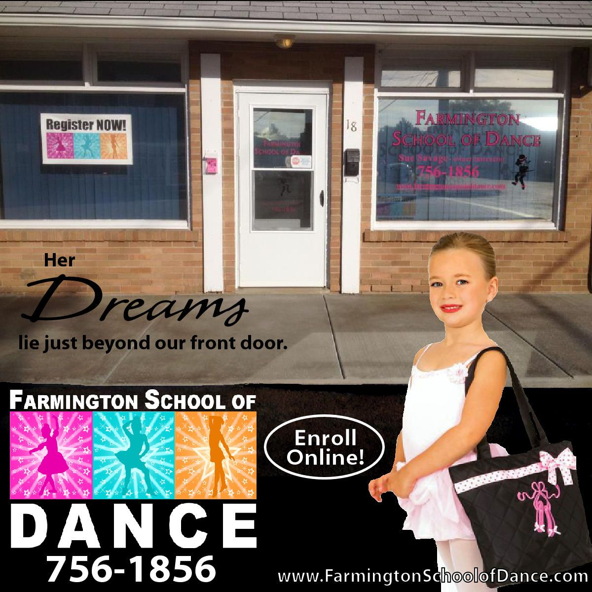Register Next Week On Tuesday Wednesday Or Thursday 3 30 6 30pm Pin For A Chance To Win See Our Facebook Promotional Photo Album Farmington School Dance