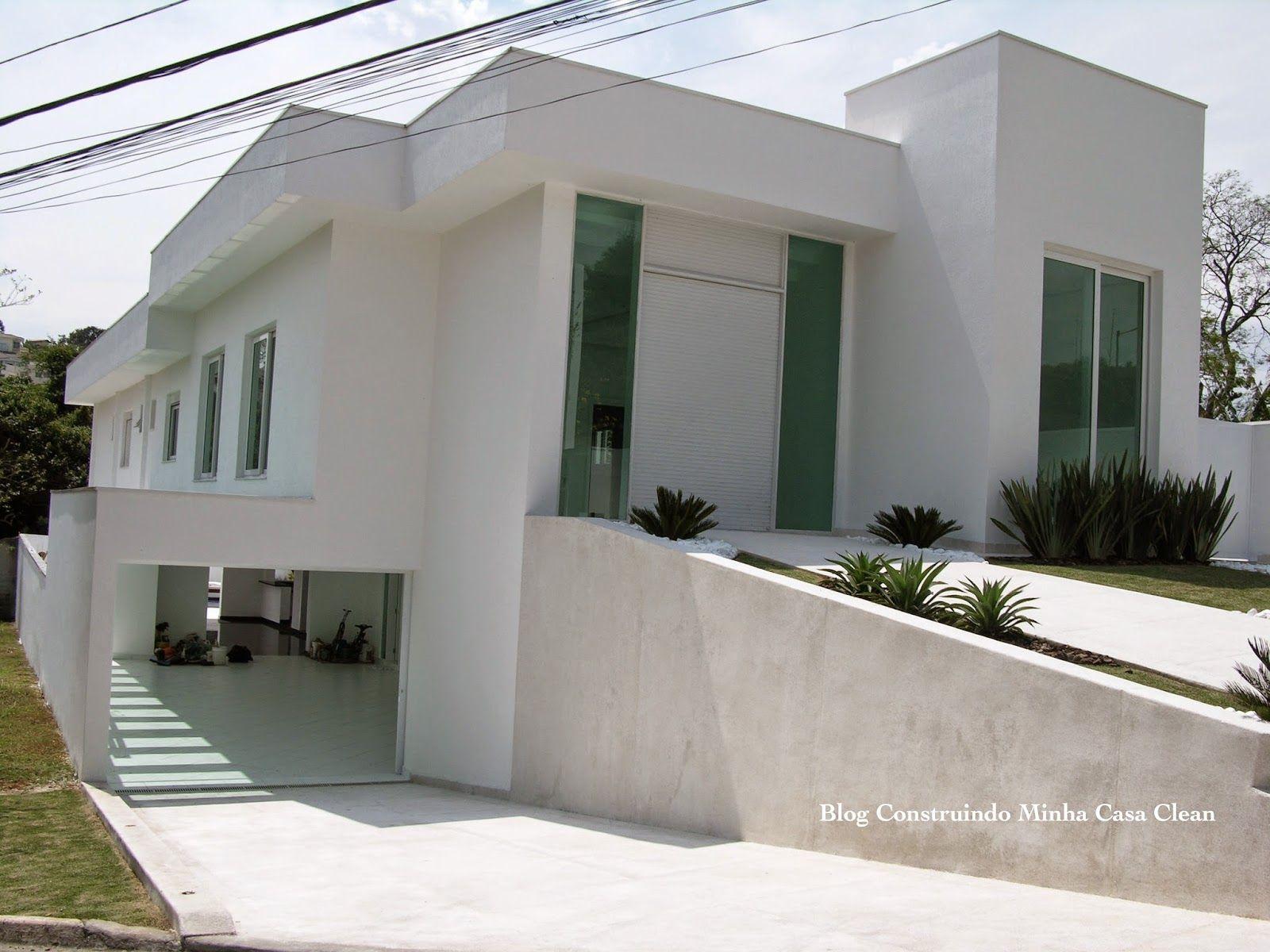 Fachadas de casas em terrenos em declive como construir for Fachadas de casas modernas
