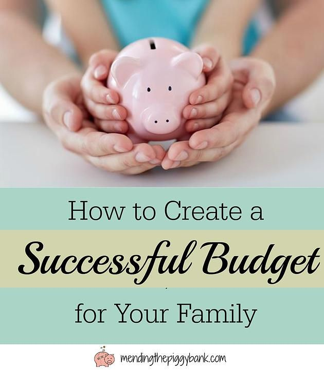 How to Create a Successful Budget for Your Family + FREE Interactive - how to create a spreadsheet