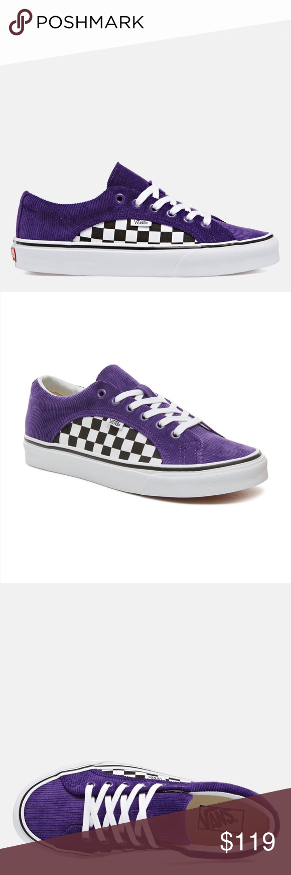 afdaf786caf Vans Lampin SKATE Shoes Checkers  Corduroy Vans Lampin SKATE Shoes SIZE  MEN S 7.5
