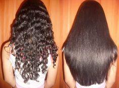 Não agrida seus cabelos com chapinha ou escova, aprenda fazer alisamento natural com leite de coco e limão passo a passo. Receita caseira!