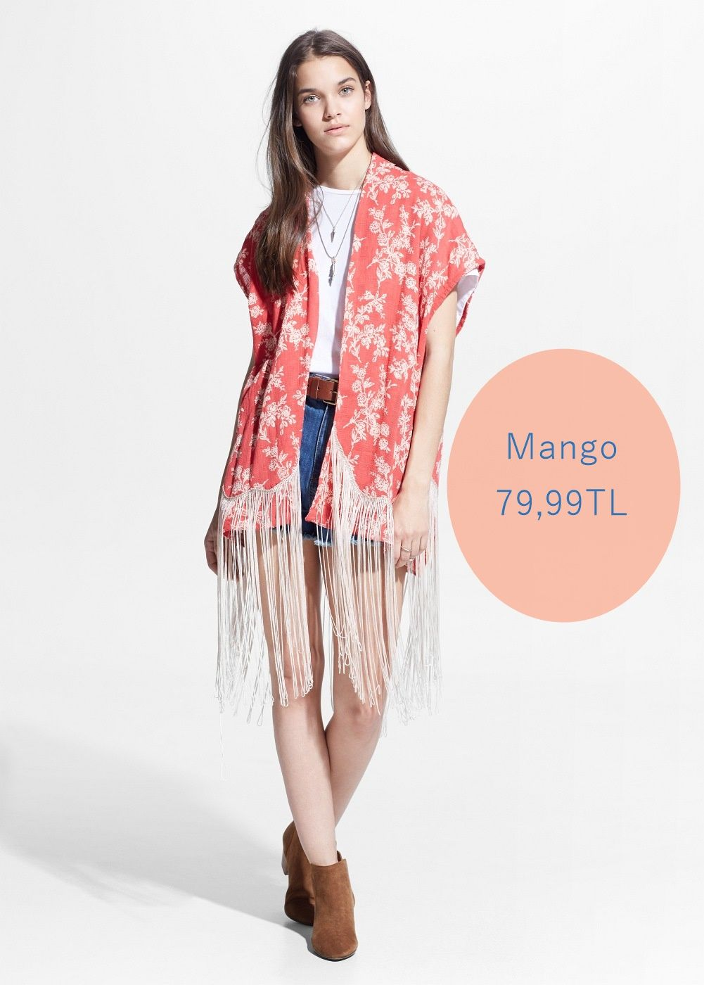 2015 Yaz Trendi: Kimonolar Nasıl Kombinlenir? #kimono #summer #fashion #mango