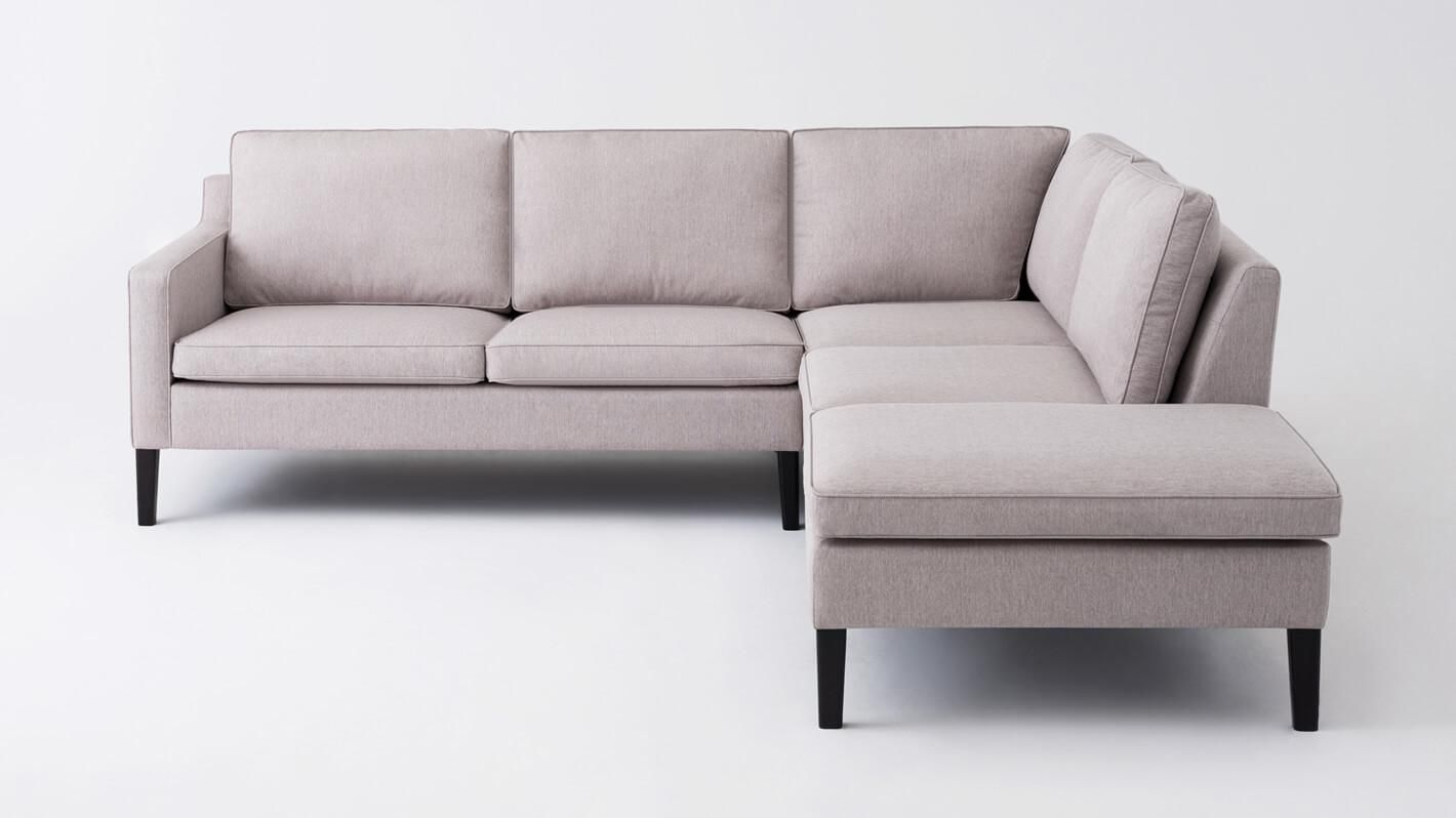 Skye 2 Piece Sectional Sofa With Corner Chaise Fabric