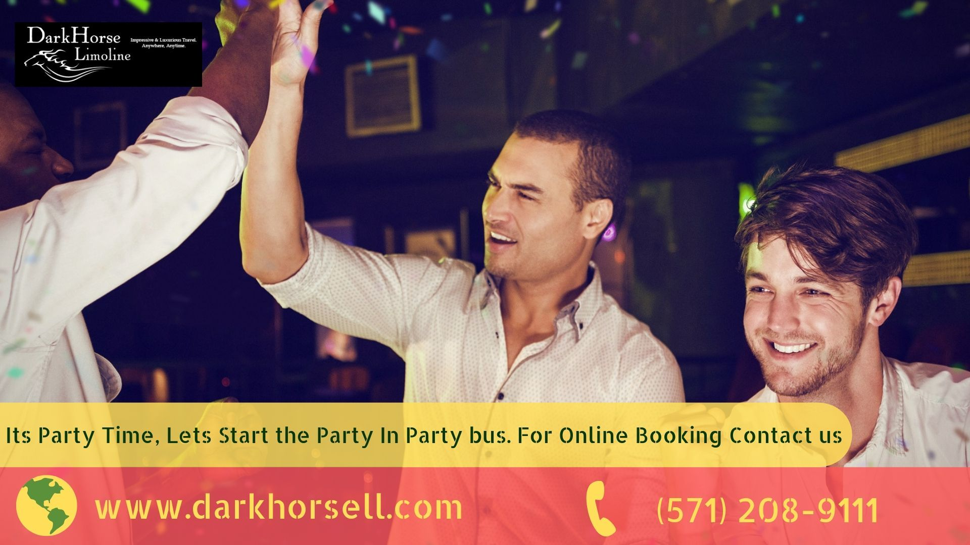 Birthday party bus poolesville party bus rental party