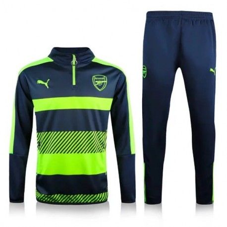 96ca001f16563 Chándal Arsenal 2016-2017 Negro Verde