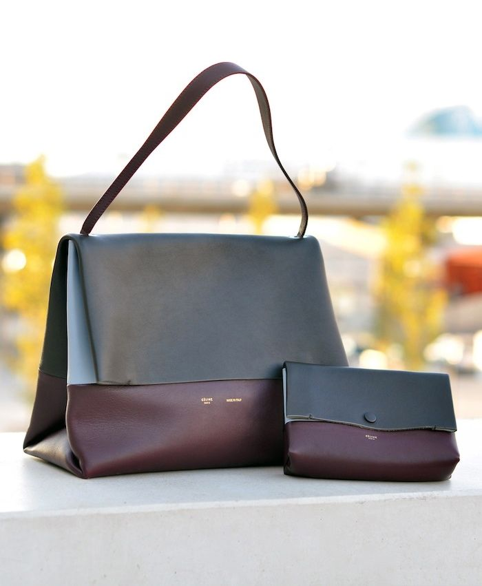 c97fcc0932 Le sac tant attendu... Celine All Soft Clutch + Bag