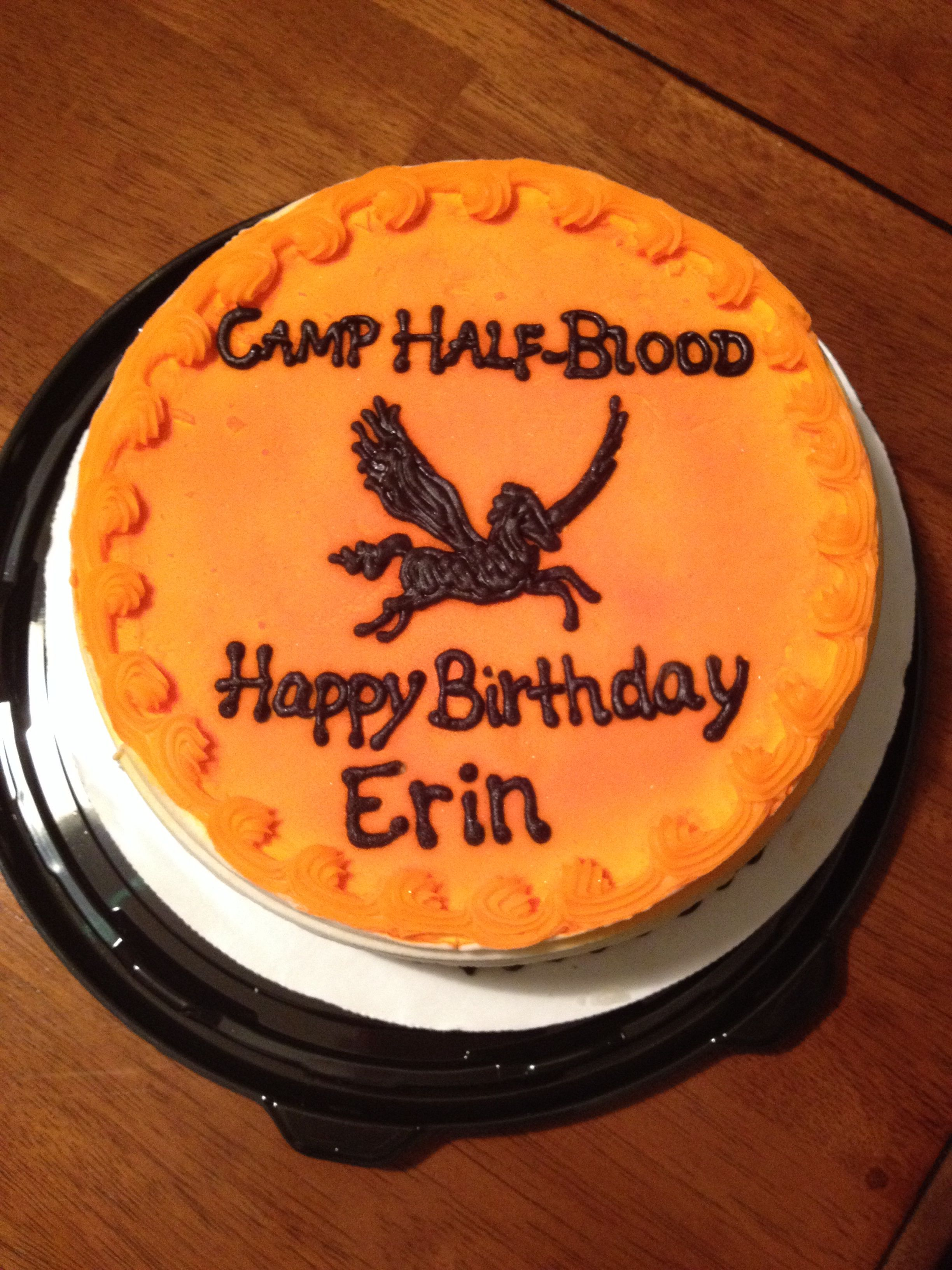 My Camp Half Blood Birthday Cake Ps This Is Seriously Mine I