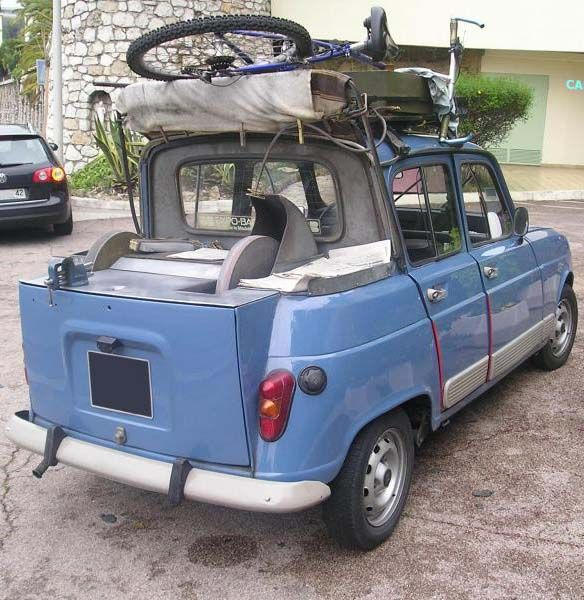 Renault 4 of a french sharpener