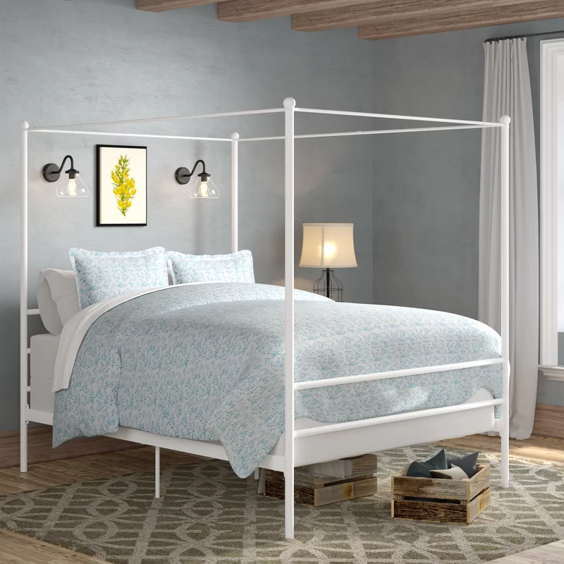 Lolington Canopy Bed Furniture, Minimalist bed, Canopy