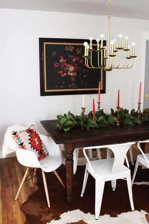 Our Modern Brass Chandelier for the Dining Room Brass chandelier