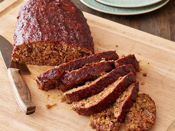 Meatloaf with tomato gravy recipe meatloaf recipes meatloaf and get smoked party meatloaf recipe from food network forumfinder Image collections