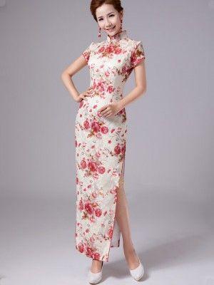 Full Length Chinese Dress