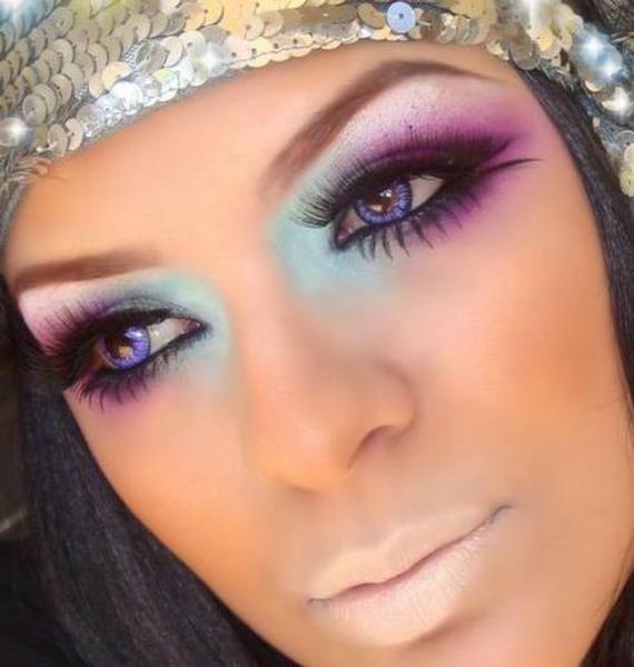Pin By Veronica Gonzalez On Makeup Inspiration Disco Makeup 70s Disco Makeup Hippie Makeup