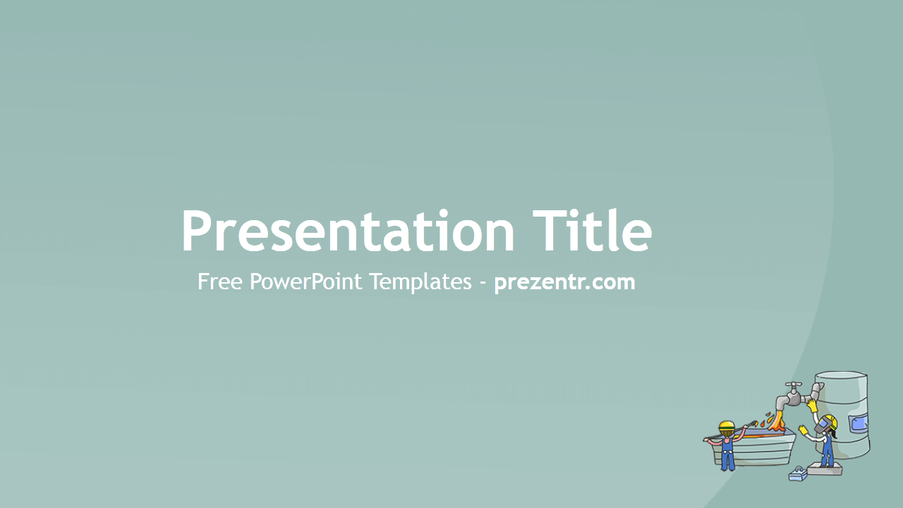 Free Metallurgy Powerpoint Template  Prezentr Powerpoint
