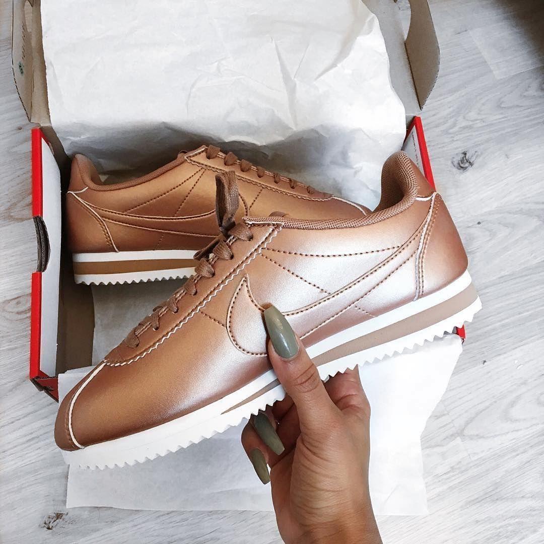 zapatillas nike cortez bronze
