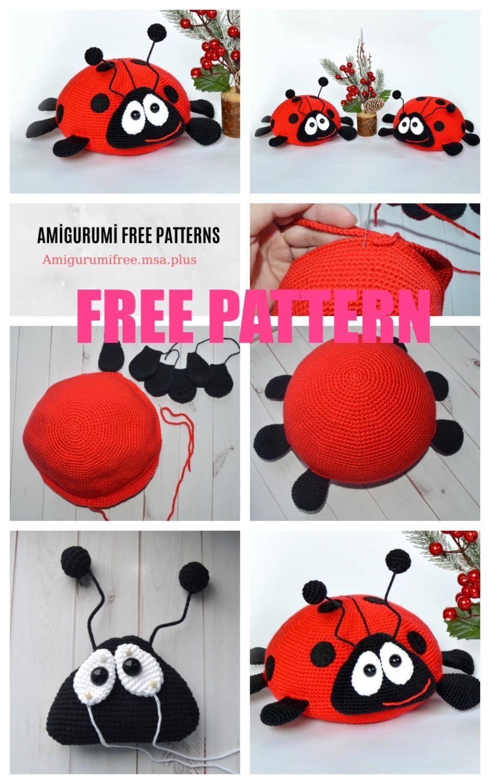 Crochet Pattern, Amigurumi Pattern, Ladybug, Crochet Pattern, CP ...   1536x960