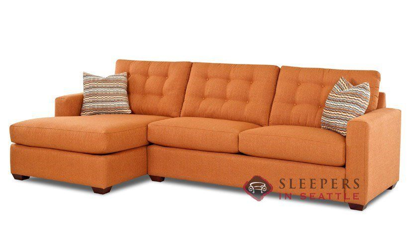 Savvy Liverpool Chaise Sectional Sleeper Sofa Full At Sleepers In Seattle 1 999 00
