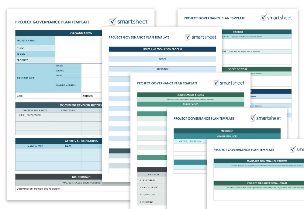 Free Project Management Plan Templates Smartsheet Agile Project Management Templates Project Management Project Management Templates