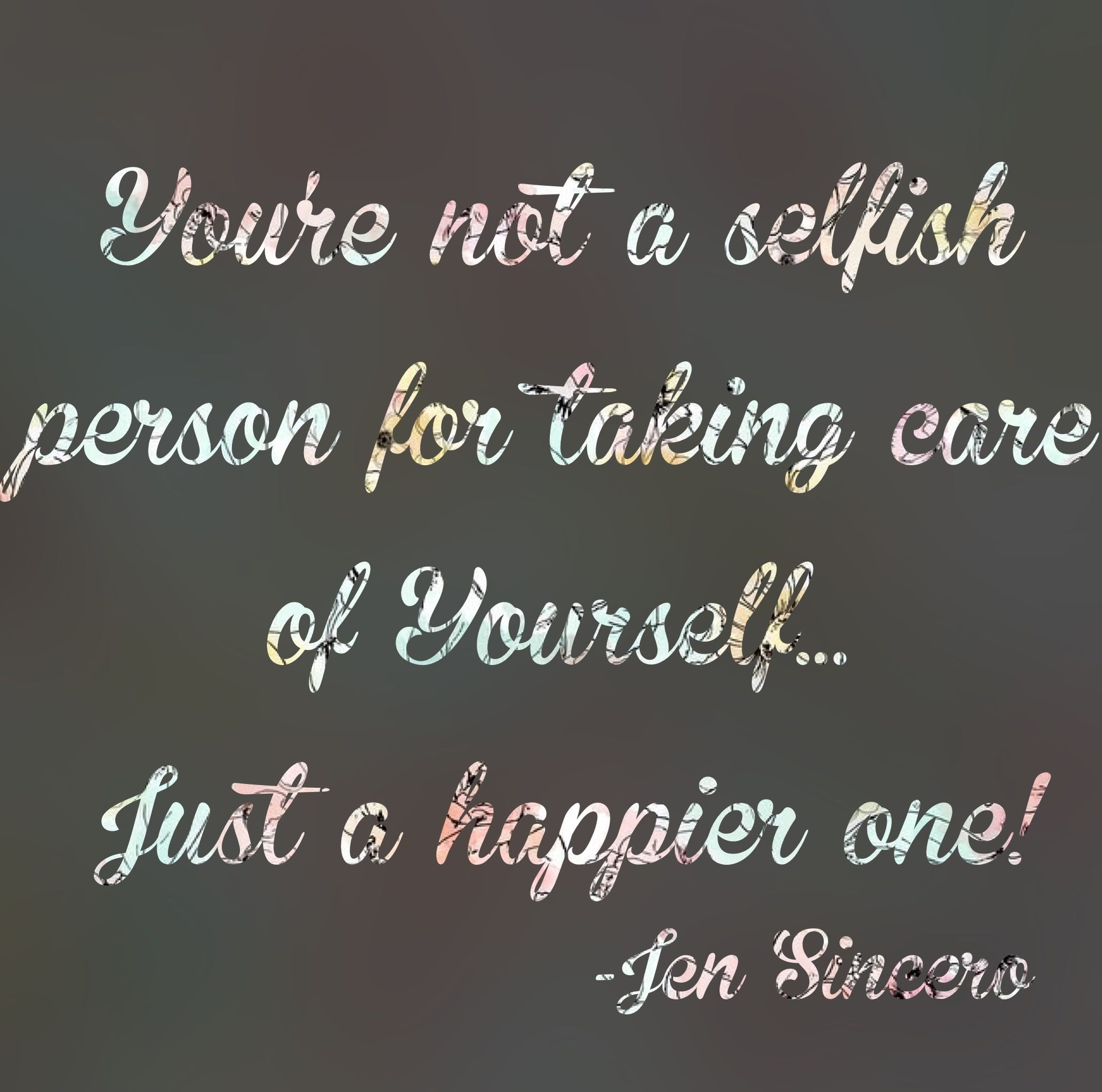 Jen Sincero Quotes I Really Believe That People Think They Are Selfish If They Take