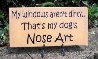 Dog nose art quotes