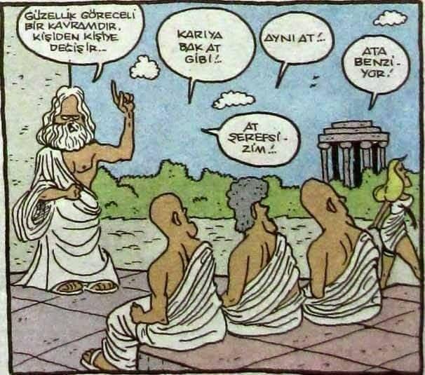 Güzellik göreceli kavramdır karikatürü #geekculture