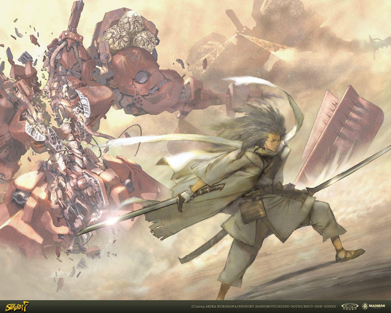 samurai 7 (With images) Anime images, Samurai, Art