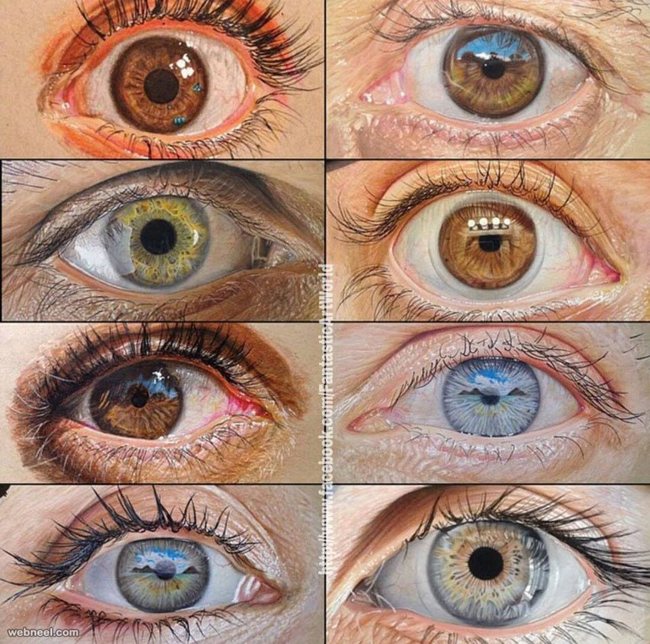 Drawingcolor 60 Beautiful And Realistic Pencil Drawings Of Eyes Realistic