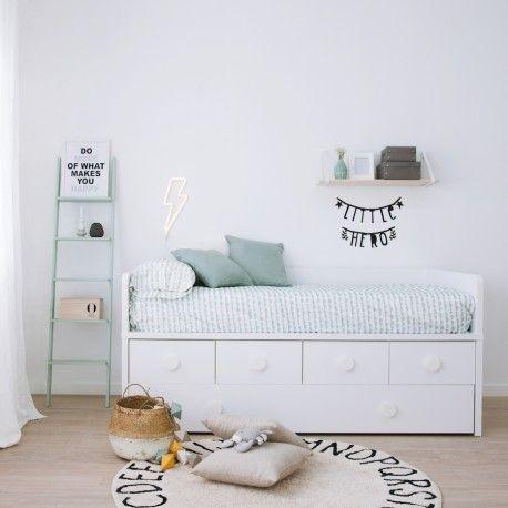 Llum la nueva cama compacta perfecta para las for Cama infantil compacta