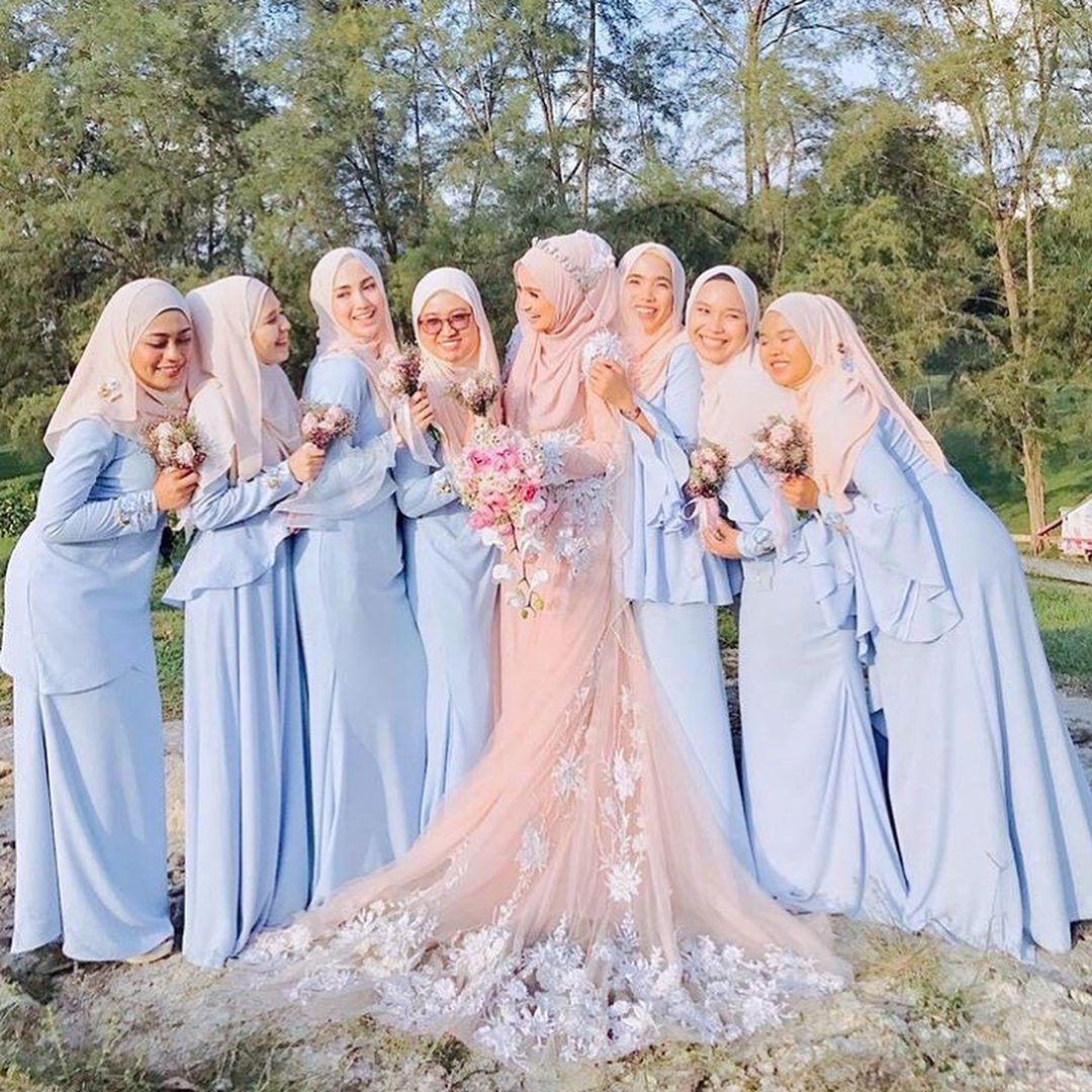 """The Bridesisters on Instagram: """"Memadukan 9 warna yang sama untuk"""