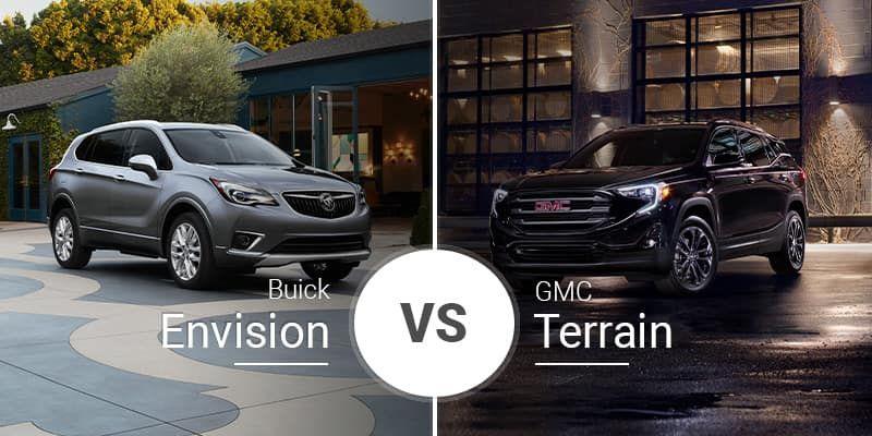 2019 Buick Envision Vs 2020 Gmc Terraingarberbuickgmc In 2020 Buick Envision Buick Buick Gmc
