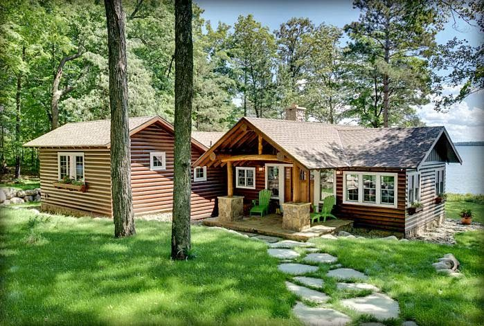 Интерьер деревянного дома в картинках. | Evler