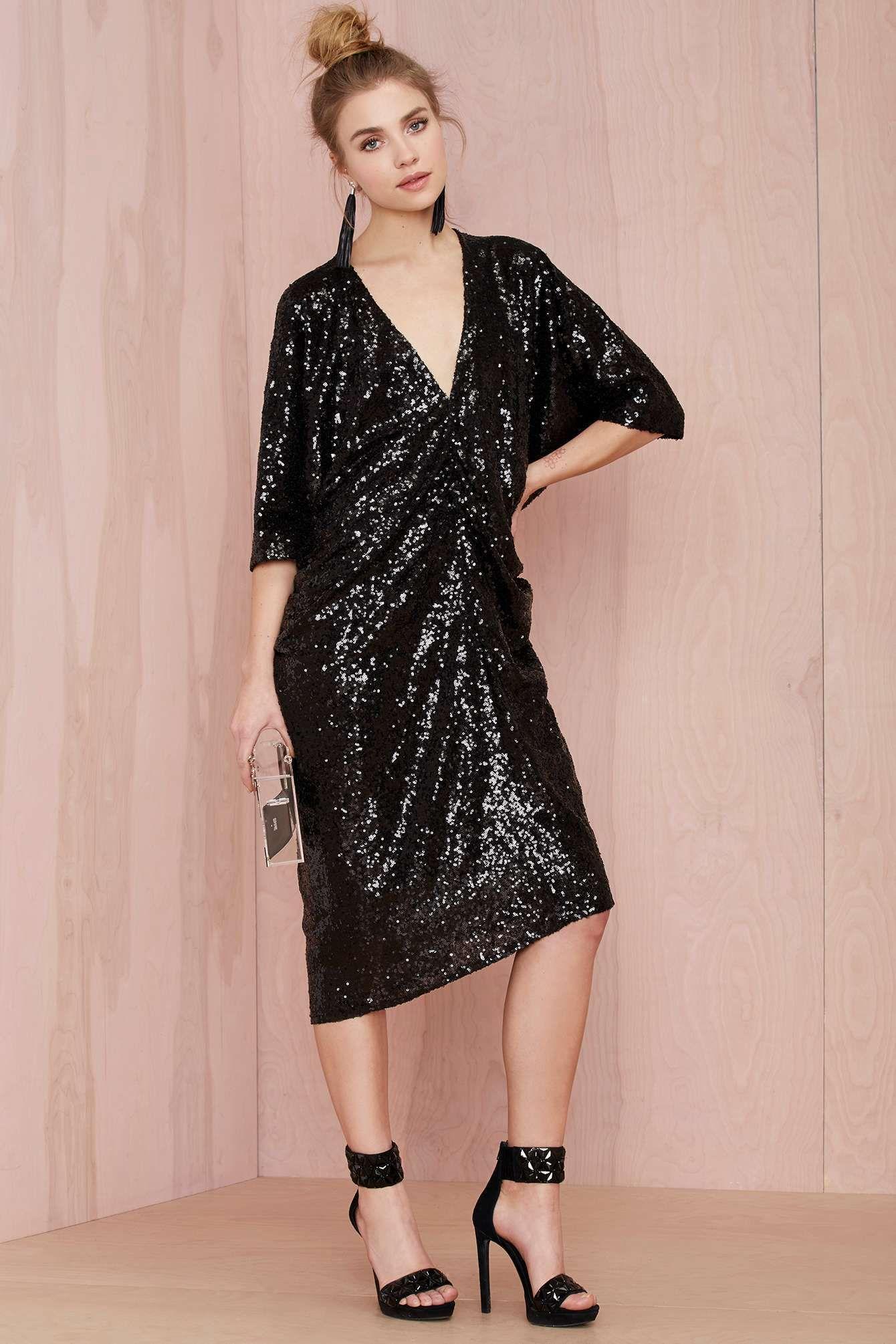 Moda Para Dama · Ideas De Moda · Nasty Gal Night Moves Sequin Dress Vestidos  De Moda bf8c451cf787