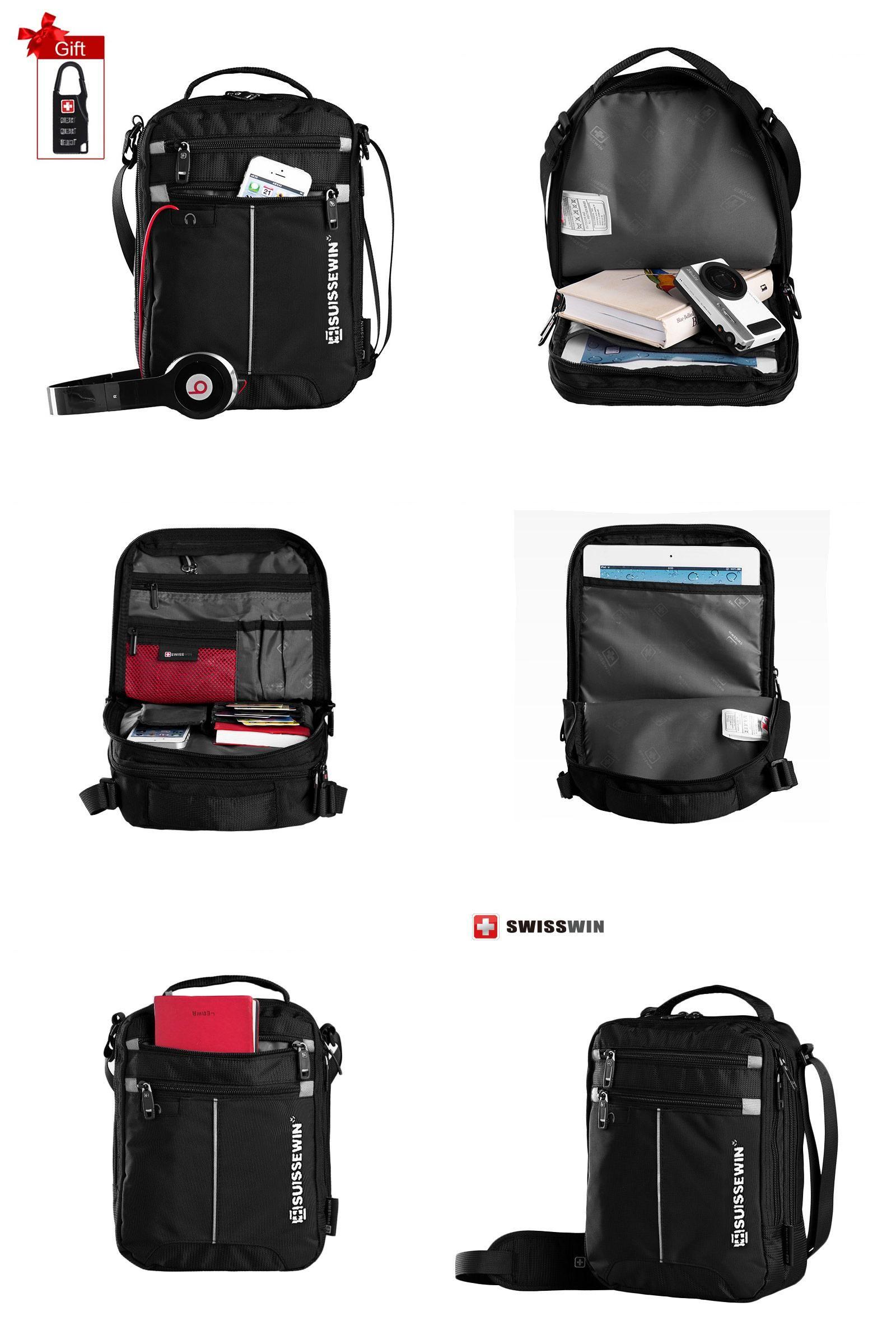 Visit to Buy  Suissewin SWB026 Hot Fashion Messenger Shoulder Bag 11 inch  Ipad Bag 3bd778c67e