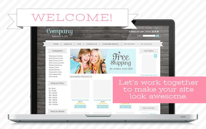Boutique Website Templates  Craft Bucket List